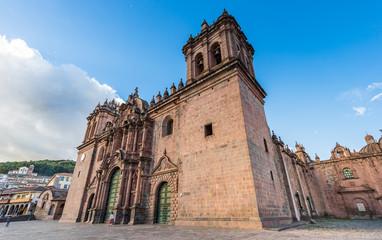 Cathedral of cusco city at Plaza de armas, Cusco, Peru
