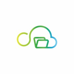 Cloud Computing Logo Icon Vector