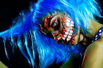 greasepaint for halloween