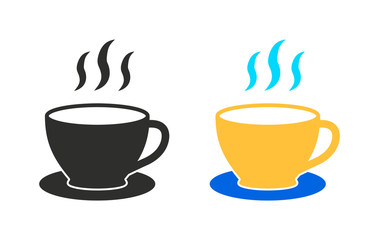 Coffee - vector icon.