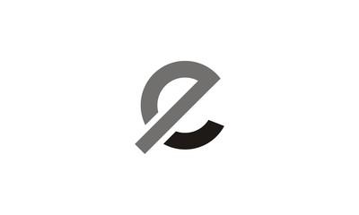 Logo E Letter company vector design template