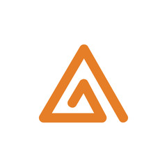 triangle vector logo icon