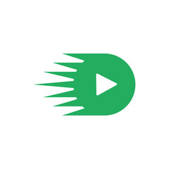 Video vector logo icon
