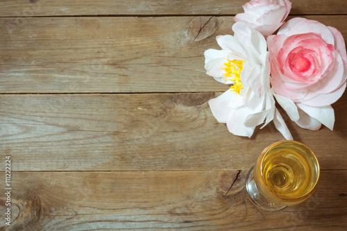 Glass of white wine and flowers stock photo and royalty free images glass of white wine and flowers mightylinksfo