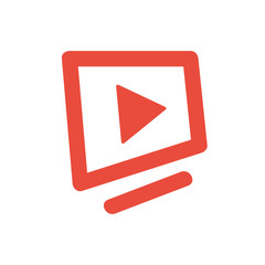 TV logo icon Vector
