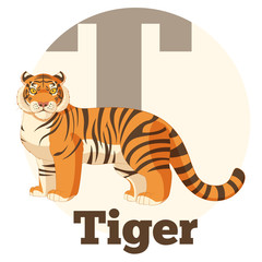 ABC Cartoon Tiger