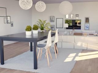 Apartment Wohnzimmer, Modern