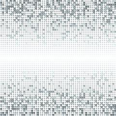 Silver shimmer sequins background