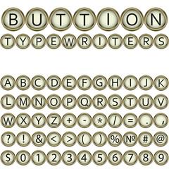 button typewriters font