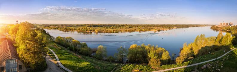 Река Великая в деревне Писковичи Vel