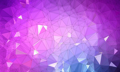 purple low poly background with dark purple and light purple and geometric pattern.