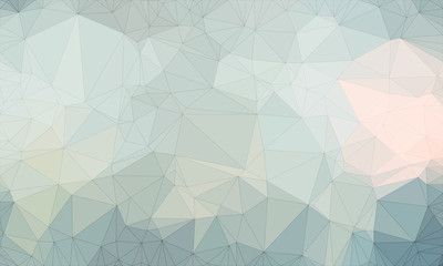 Low poly background design in geometric pattern. polygon wallpaper in origami style. polygonal texture illustration in color light blue and light gray