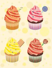 Bonbon cupcakes