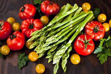 Taffel mit Gemüse