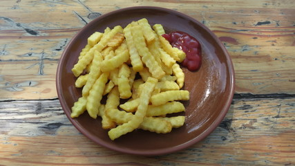French fries chips