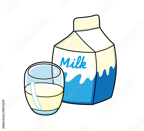 clipart of a glass of milk - photo #15