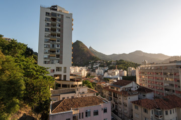 Apartments and Houses Between the Hills of Rio de Janeiro in Laranjeiras Neighborhood