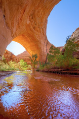 Jacob Hamblin Arch in Grand Staircase-Escalante National Monument, Utah.