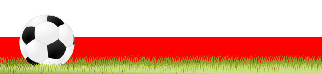 Fußball Banner