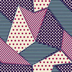 Blanket seamless pattern.