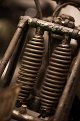 Motorcycle fork suspension