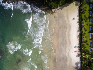 Top View of a Beach, Brazil