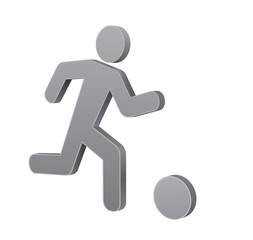footbal man icon