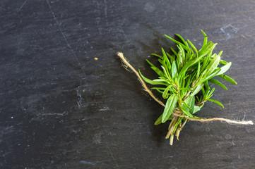 Fresh satureja herb