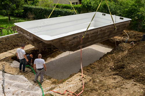 Construction piscine stockfotos und lizenzfreie bilder for Construction piscine 82