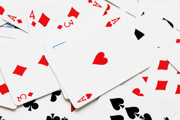 background image of playing cards
