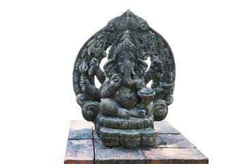 Ganesh stone carving