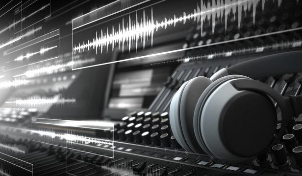 Sound Studio and Audio Tracks