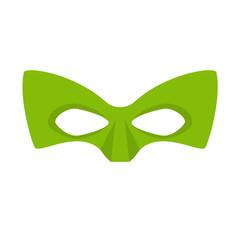 Super hero green mask