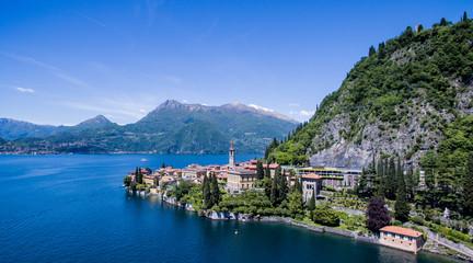 Varenna - Lago di Como - Foto aerea (Como Lake - Italy)