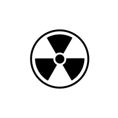 Radiation simple icon