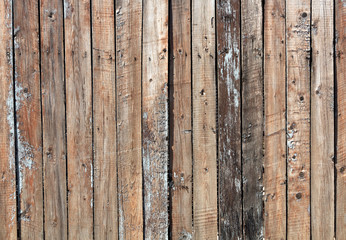 Weathered wooden fence texture.