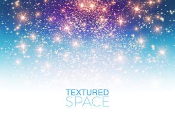 Abstract Textured Background. Glitter Dust. Vector illustration