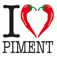 I love Piment - Piment - épice
