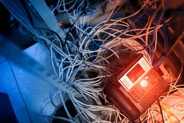 Internet  phone in network room
