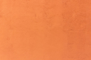 Background of vintage orange color cement