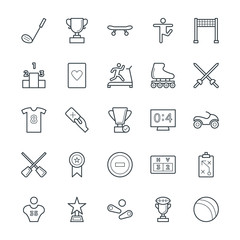 Sports Cool Vector Icons 5