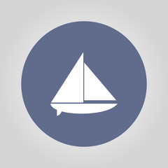 boat vector black silhouette