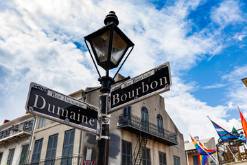 French Quarter Cityscape