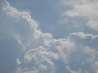 Blue sky and clound photo