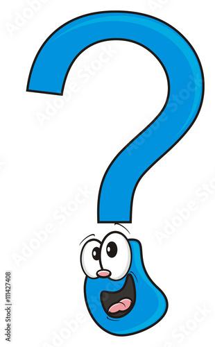 Symbols Preschool Teach Read Comic Cartoon White Background