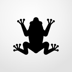 frog icon. frog sign