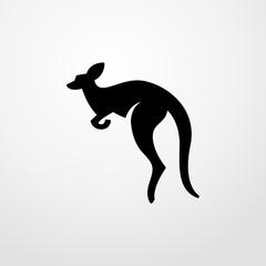 kangaroo icon. kangaroo sign