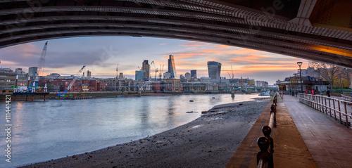 Wall mural River Thames London,UK