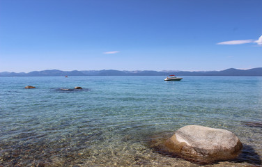 Crystal Blue Lake Tahoe