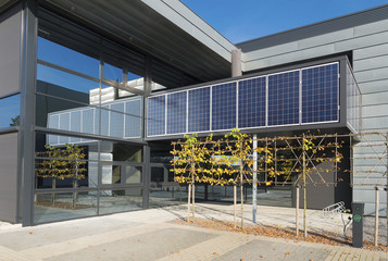solar energy on office building